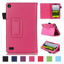 "Smart Magnetic Folio PU Leather Cover Case For Amazon Kindle Fire 7"" inch"
