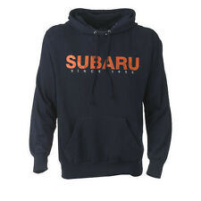 Subaru Comfort Fleece Hoodie Forester Impreza Legacy WRX STI Official Navy NEW