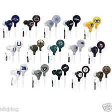 Earbuds IHip NFL Officially Licensed Pick Your Team  Football