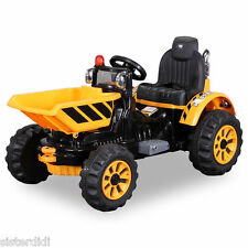 2016 model electric 12v ride on dumper truck with tipping bucket new for kids