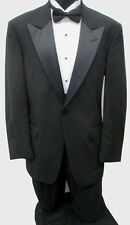 Black Tommy Hilfiger Tuxedo Package Made in USA Wedding Prom Formal 50R