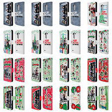 OFFICIAL ONE DIRECTION PHOTO DOODLE CHRISTMAS LEATHER BOOK CASE FOR LG PHONES 1