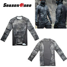 Tactical Camouflage Long-sleeve Cotton Blend T-shirt  Army Military Typhon M-XXL
