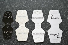 Jewellery Display Cards For Necklace or Bracelets - 4 Styles (D.75)