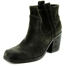 Belle Sigerson Morrison Lagoon Women  Square Toe Suede Black Ankle Boot