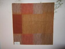 Lee Jofa Groundworks fabric remnant for craft Ikat Plaid Print multiple colors