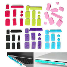 9X Anti-dust Plug Ports Cover Protector Stopper Cap Set for Macbook Pro 13 15''