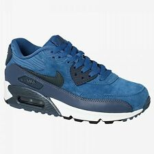NIKE AIR MAX 90 LEATHER WOMEN RUNNING SHOE 100% Authentic New 768887 401 A+