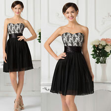 XMAS Short Prom Homecoming Dress Ball Gown Evening Cocktail Bridesmaid Dresses