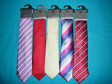 M&S LUXURY 100% SILK TIES CHOICE OF COLOURS & STYLES AVAILABLE MARKS & SPENCER