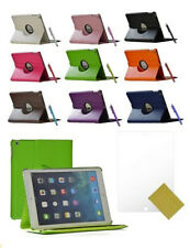 360° Rotating PU Leather Smart Cover Stand Case for Apple iPad Air 5th Gen FO