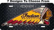 Indian Motorcycle License Plate Auto Car Tag Metal Aluminum FREE Shipping LPC04