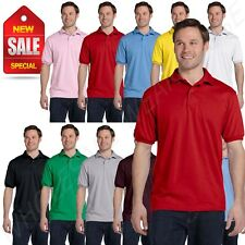 Hanes Golf Tee Blended Jersey Sport Shirt Mens Polo golf shirt from 2X-6XL B-54