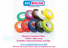 Quality Electrical PVC Insulation Tape 19mm x 20m BS EN 60454 Electrical Work