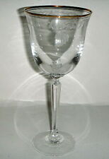 Lenox Classic Shell Gold  (Gold Trim) Water Goblet