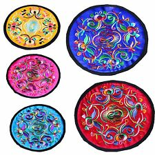 2Pcs Cute Handmade Round Coaster Cup Cushion Holder Drink Placemat Mat