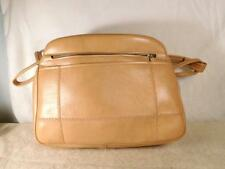 Estate Auction Find Circa 1970-1980 Purse - 4 Compartments Light Brown NOS