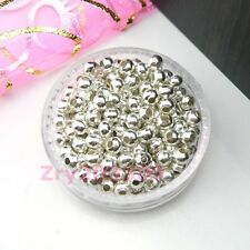Silver Plated Metal Spacer Beads 2.4mm,3.2mm,4mm,5mm,6mm,8mm R0052