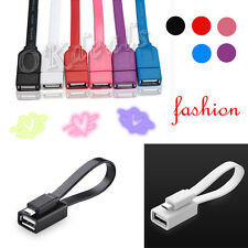 Noodles Micro USB Host OTG Cable Adapter For Samsung Galaxy S3/4 Note2 Sony LG
