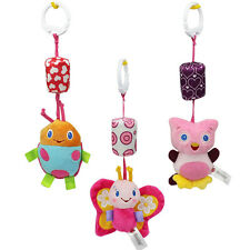 Cute Baby Infant Rattles Plush Animal Stroller Music Hanging Bell Toy Doll Soft