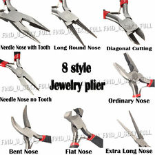 Mini Craft Jewellery Making Tools Round Long Nose Pliers Side/Wire cutters Plier