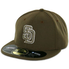San Diego PADRES 2015 ALTERNATE New Era 59FIFTY Fitted Caps MLB On Field Hats
