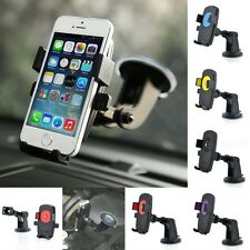 Universal Car Mount Holder Windshield Bracket For iPhone Samsung Cellphone GPS