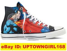 Converse Chuck Taylor ALL STAR HI Shoes Superman DC Comics US Men Sneakers New
