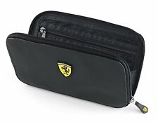 FERRARI TRAVEL HOLIDAY WALLET, BLACK, BNWT, OFFICIALLY LICENSED PRODUCT