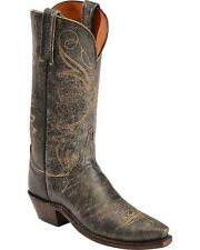 Lucchese N9632 54 Womens Brown Distresed Aviator Leather Western Cowboy Boots