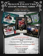 MIAMI DOLPHINS 2015 MUSEUM COLLECTION Full CASE 12X TEAM BREAK Topps Football