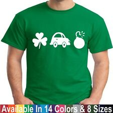 Irish Car Bomb Funny St Patricks Day Beer Whisky Liquor Shot Drinking T Shirt