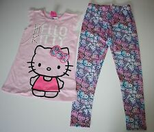 New Princess Hello Kitty Sequin Lace Tunic Top Legging Set Size 6X Year NWT