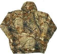 Men's Camo Hoodie MOC Camouflage Thermal-Lined Hooded Sweatshirt Heavyweight
