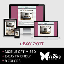 BEST RESPONSIVE eBay Listing Template Auction GALLERY HTML Professional Design 3