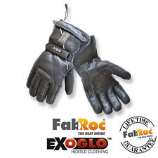 EXO2 Snowstorm Pro Wireless Heated Motorcycle Motorbike Gloves | All Sizes