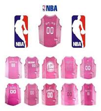 PINK NBA Basketball Dog Jersey *PICK YOUR TEAM* Puppy Love Pet Sports Fan Shirt