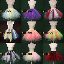 Colorful bubble skirt Mini tutu Fancy Dress Petticoat crinoline underskirt