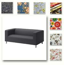 Custom Made Cover Fits IKEA  Fits 2 Seater KLIPPAN Sofa, Patterned Sofa Cover