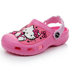 Kid's Toddler's Girl's 3D Hello Kitty Clogs Sandals **USA shipping**