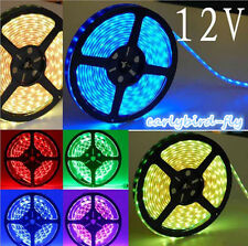 3528 5M 300 600 Leds SMD 12V LED Flexible Strip Light Tape Roll Warm Cool White