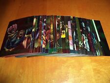 1995 Fleer Ultra X-Men All Chromium Cards 3 4 6 9 11 12 16 20 23 24 25 26 36 37