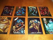 1995 Fleer Ultra X-Men All Chromium Gold Signature Cards 3 5 36 48 70 80 89 94