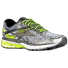 Brooks Ravenna 7 - Men's Running Shoes (Silver/Nightlife/Black Width:Medium)
