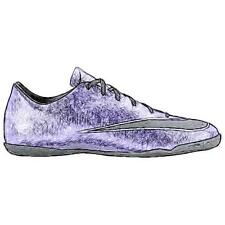 Nike Mercurial Victory V IC - Men's Soccer Shoes (Urban Lilac/BK/Bright Mango/W