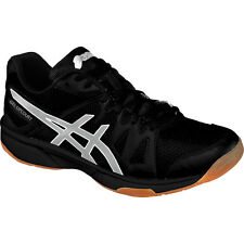 Asics Gel-Upcourt Womens Volleyball Shoe  Black-Silver