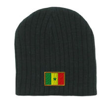 SENEGAL Embroidery Embroidered Beanie Skull Cap Hat