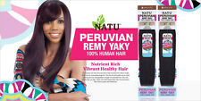 Shake N Go NATU Peruvian Remy Yaky 100% Human Hair Weave Pre Colored Milkyway Co