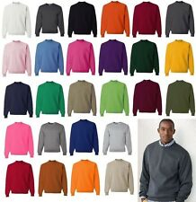 JERZEES Mens NuBlend Crewneck Sweatshirt Blank 562MR S-5XL