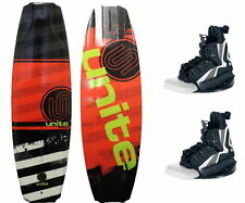Men's MANUAL Wakeboard Package 140 red with Explore binding JOBE
